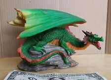 Mythical Gothic Dragon Resin Candle Incense Holder 5 x 7 by Adams Apple