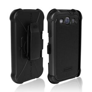 Ballistic SG Maxx Drop Protection Case + Holster Clip for Samsung Galaxy S3 SIII