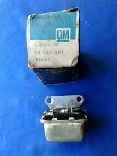 NOS GM Relay # 1365166 Corvette  A/C 1961-68 + Buick Olds Cad Chevy Pontiac