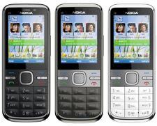 Nokia c5-00 Mobile Phone Mobile Phone Quad-band UMTS GPRS Bluetooth Camera mp3 LIKE NEW