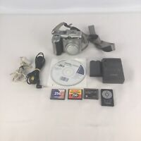 Canon PowerShot G6 7.1MP Digital Camera With Battery & More - Tested- Silver