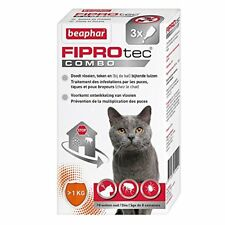 Beaphar - FIPROtec Combo pipettes Anti-puces et Anti-tiques Chat 3
