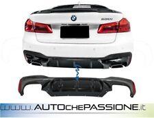 Sotto paraurti posteriore BMW serie 5 G30 G31 (2017-up) M5 Design nero lucido
