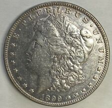 1899 P MORGAN SILVER DOLLAR BETTER DATE AU DETAILS CLEANED