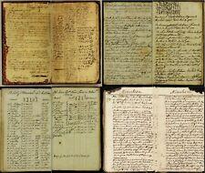 51 Rare Old Scarce American Revolutionary War Manuscripts (1775-1782) On Dvd