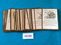 Heroquest/RPGWarhammer Quest - Treasure Cards x24 - HQ362
