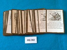 Heroquest/RPGWarhammer Quest - Treasure Cards x24 - HQ362