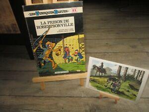 Cauvin-Tuniques Bleues-Prison Robertsonville + Dédicace signée+ Ex libris S & N