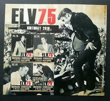 Grenada Elvis Presley 75 Birthday 2010 Singer Artist Famous (sheetlet A) MNH