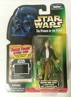 Star Wars Power of the Force POTF Green Card Han Solo Bespin Sealed