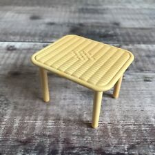 Sylvanian Families Replacement RARE Spares | Courtyard Restaurant Wicker Table