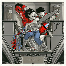 JOSHUA BUDICH Akira Tetsuo SISTINE POP ltd SIGNED/Artists Proof SILKSCREEN PRINT