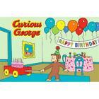LA Rug CG-03 3958 Curious George Birthday Juvenile Accent Rug