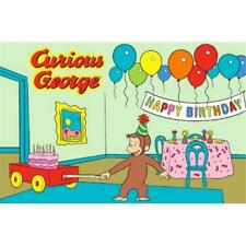 La Rug Cg-03 3958 Curious George Birthday Juvenile Accent Rug