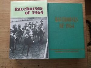 """TIMEFORM """"RACEHORSES OF 1964"""" FINE IN A MADE UP DUST JACKET"""