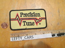 VINTAGE PRECISION TUNE EMBROIDERED CLOTH PATCH