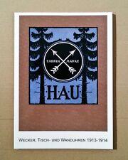 Pfeilkreuz H.A.U. Katalog D7 1913, Tisch- und Wanduhren, Uhrenbuch, Musterbuch