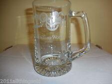 Vintage Walt Disney World 2000 Personalized Glass Large Beer Mug~One Of A Kind