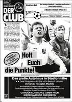 BL 90/91 1. FC Nürnberg - Borussia Mönchengladbach, 20.04.1991