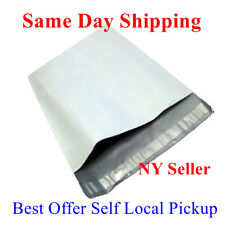 "1000 12X15.5 White Poly Mailer Self Sealing Shipping Envelopes Bags 12""X15.5"" P5"