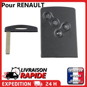 Carte clé pour RENAULT4 boutons Mégane 3 Scénic 3 Laguna 3 sans électronique