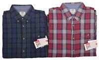 Vans Men's Lachlan Flannel Plaid Casual Button Up Shirt Choose Color & Size