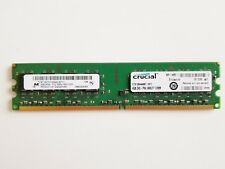 Crucial CT51264AA667 1x 4GB 240-pin DIMM DDR2 PC2-5300 Memory, HP MediaSmart