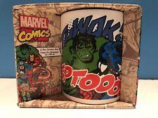 Zak! Designs Ceramic Mug with Marvel Comic Graphics, 11.5 oz New Hulk Spiderman