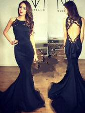 Woman's Sexy Backless Fitted Fishtail Evening Dress