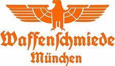 Waffenschmiede München Fahrzeug Aufkleber Orange Glanz WH Vehicle Sticker Eagle