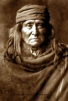 1903 Geronimo PHOTO,Apache Indian Chief Native American Leader