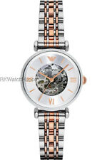 BRAND NEW EMPORIO ARMANI AUTOMATIC STAINLESS STEEL BRACELET LADIES WATCH AR1992