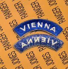 US Army Vienna Austria Occupation tab patch c/e