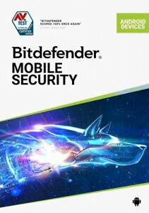 Bitdefender Mobile Security 2021 1 Gerät 3 - 12 Monate | Handy, Tablet, Android