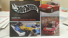 CATALOGO HOT WHEELS EDICION 2004 COCHES COLECCION CARS COLLECTION NEW MATTEL