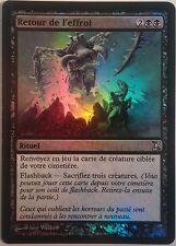 Retour de l'Effroi PREMIUM / FOIL VF - French Dread Return - Magic mtg