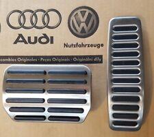 original VW Touareg Pedale 7L R-Line Pedalset Pedalkappen pedal cover pads caps