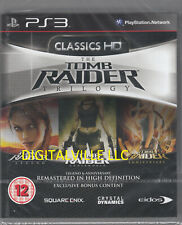 Tomb Raider Trilogy Ps3 Brand New Factory Sealed Legends Underworld Anniversary