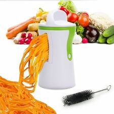 Spiral Slicer Cutter Chopper Spiralizer Vegetable Fruit Twister Peeler Kitchen O