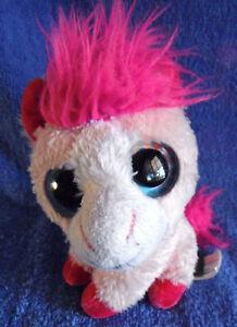 *1713b*  Sassy Pink Pony - Wild Republic K&M International 2014 - plush - 13cm