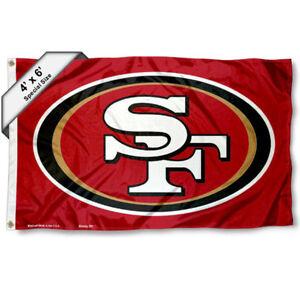San Francisco 49ers Big 4x6 Foot Flag