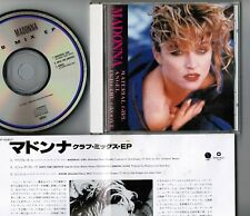 "MADONNA Material Girl (Club Mix EP) JAPAN 3-track 5"" MAXI CD WPCP-5063 w/INSERT"