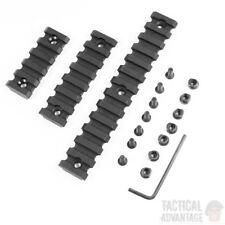 Keymod Polymer 20mm Weaver Picatinny Rail Section Set 3pcs for Handguard UK
