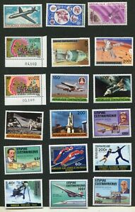 STAMP LOT OF THE CENTRAL AFRICAN REPUBLIC, MH (3 SCANS)