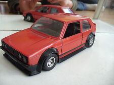 Bburago burago Volkswagen Golf 1 GTI in RED/BLACK on 1:24