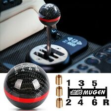 MUGEN Carbon Fibre 6 Speed Black MT Manual Shift Transmission Shifter Gear Knob