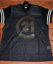 Century 21 rhinestone glitter Bling jersey  XS S M L XL XXL 3X 4X