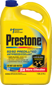 PRESTONE - ANTIFREEZE COOLANT EXTENDED LIFE AF2100 50-50 PRE-DILUTED (1 GAL)