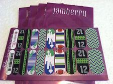 Jamberry Nail Wrap: Seattle Seahawks Inspired Custom NAS Wraps 12th Man, Needle