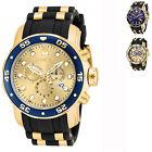 Invicta Men's Pro Diver Quartz Multifunction Gold Dial Watch